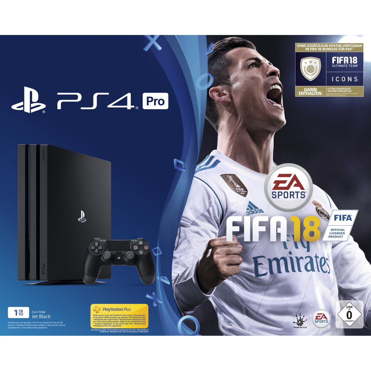 Terroa On Twitter Sony Playstation 4 Pro 1tb Schwarz Fifa 18 Ps4 Game 17 Ps Plus 14 Tage Http Core Gamede
