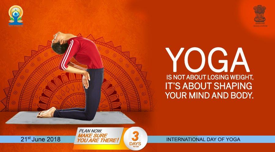 Say goodbye to stress! Follow the 45 minutes Common Yoga Protocol to experience the calm within.Take the pledge today: yoga.ayush.gov.in #AYUSH #ZindagiRaheKhush #IDY2018
