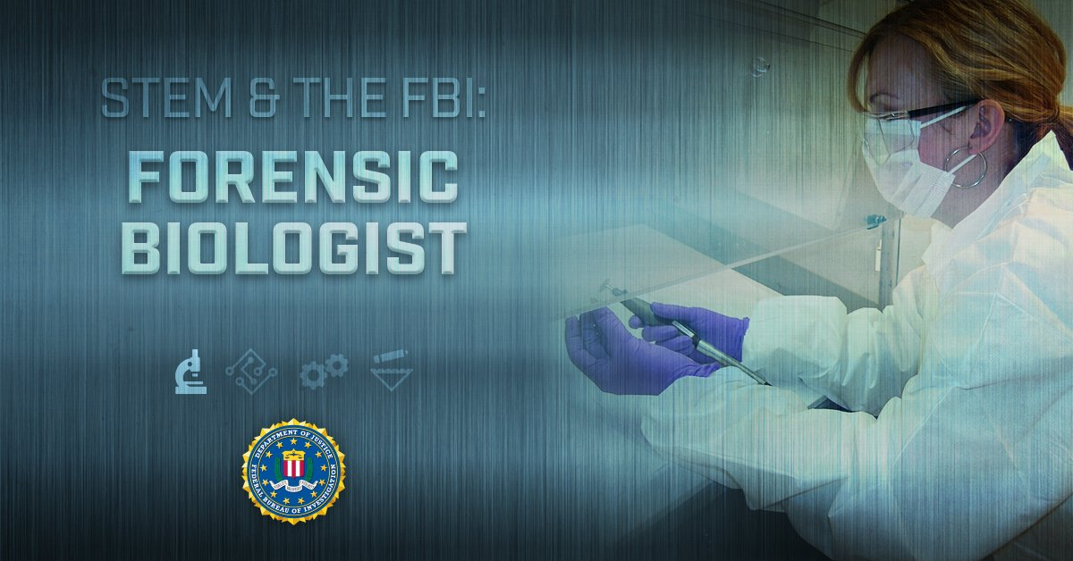 Fbi El Paso On Twitter Forensic Biologists Analyze Dna From Crime Scenes To Help Investigators Solve Crimes Do You Have A Background In Biology Are You Ready To Use Your Laboratory Skills