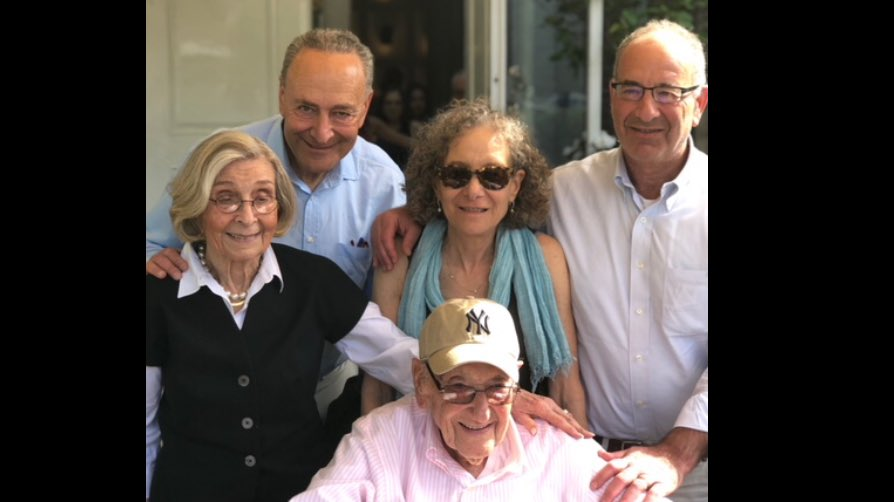 He turned 95 this week folks! Very grateful for my dad, Abe and my mom, Selma- she turned 90 on #DDay- and all they've done for our family. A happy #FathersDay to all!