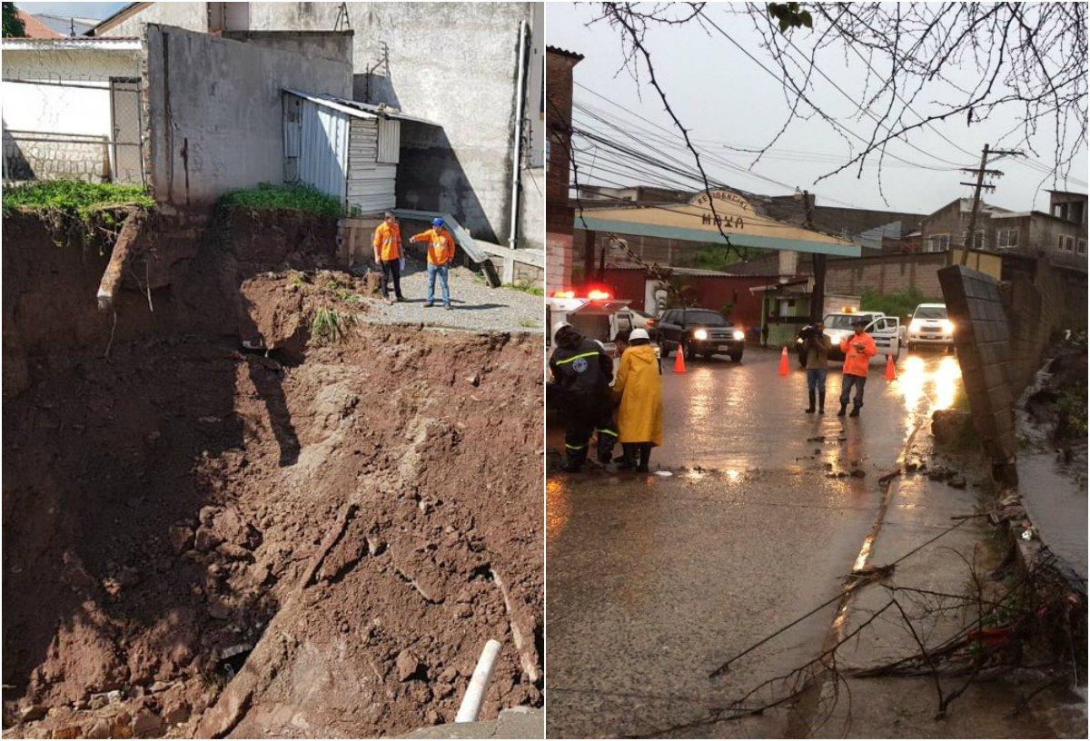 Imágenes: Lluvias causan estragos en Tegucigalpa https://t.co/8HZ5HyPKpo https://t.co/bhQmUGHBsI