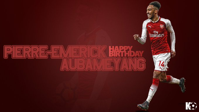 Coupe de la Ligue DFB-Pokal DFL-Supercup  Happy Birthday, Pierre-Emerick Aubameyang!
