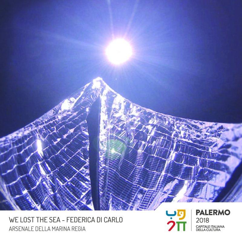 All'arsenale della Marina Regia di Palermo dal 18 giugno (ore 18:00) al 15 settembre, la grande istallazione di Federica di Carlo mette in scena il respiro della Terra.#PalermoCapitaleCultura  - Ukustom
