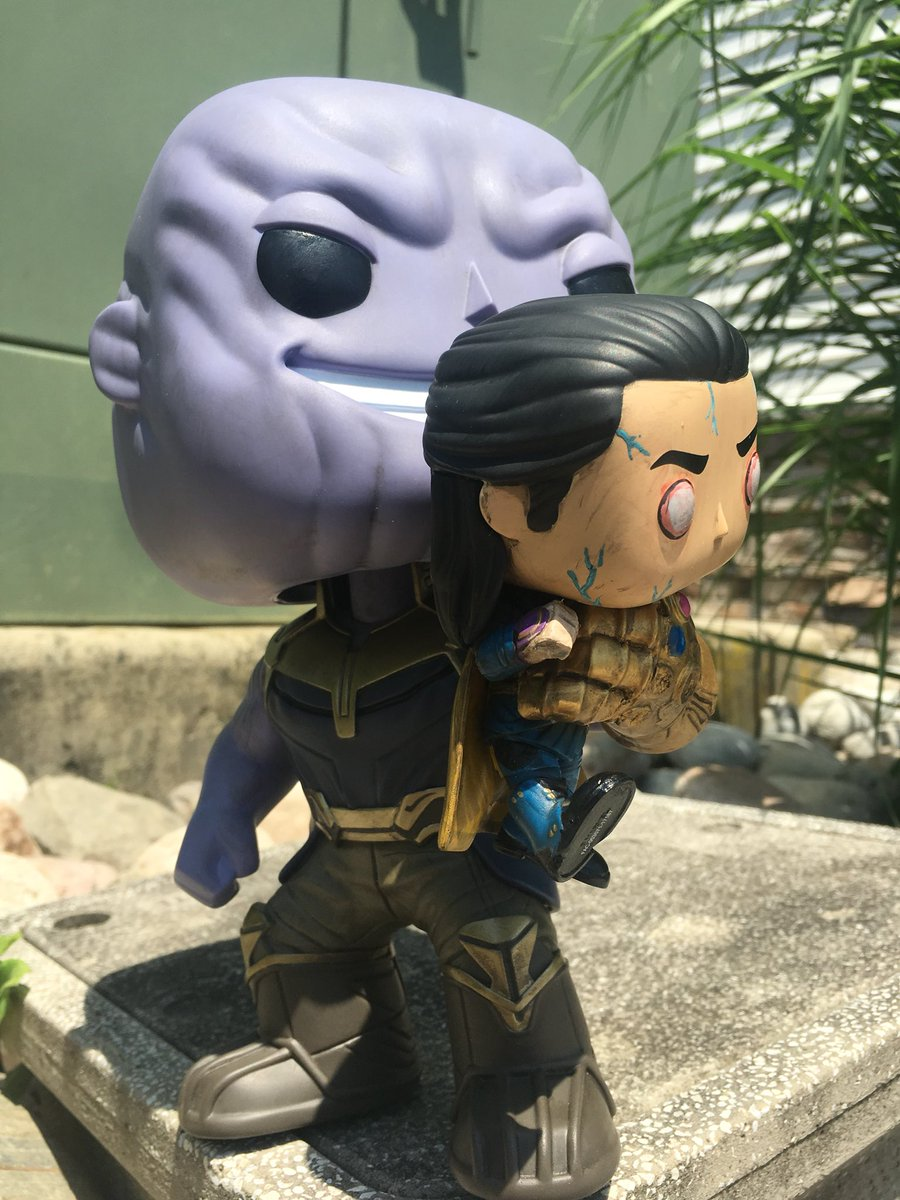 𝓪𝓁𝒾𝒶𝓈 On Twitter Quot Whoever Customized This Funko Pop Of