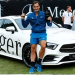 Image for the Tweet beginning: .@rogerfederer has claimed his 98th