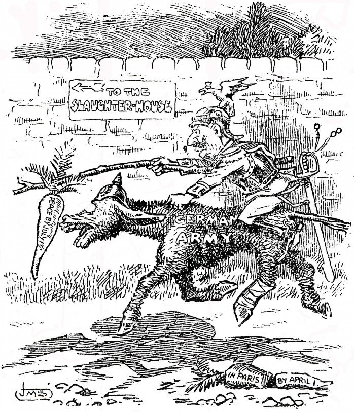 Jun 14, 1918 - Western Mail: Kaiser lures German army to the slaughter house with promise of quick victory and 'peace by July' #100yearsago
