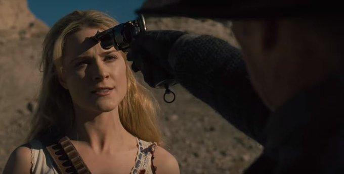 Dolores e Homem de Preto ficam frente a frente em teaser do último episódio de Westworld - assista #SegundaDetremuraSdv Foto