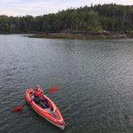 Image for the Tweet beginning: Kayak à Smith Cove, Maine