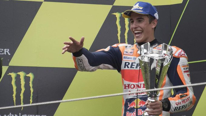 Tak Mau Crash, Marquez Prioritaskan Poin di MotoGP Catalunya Photo
