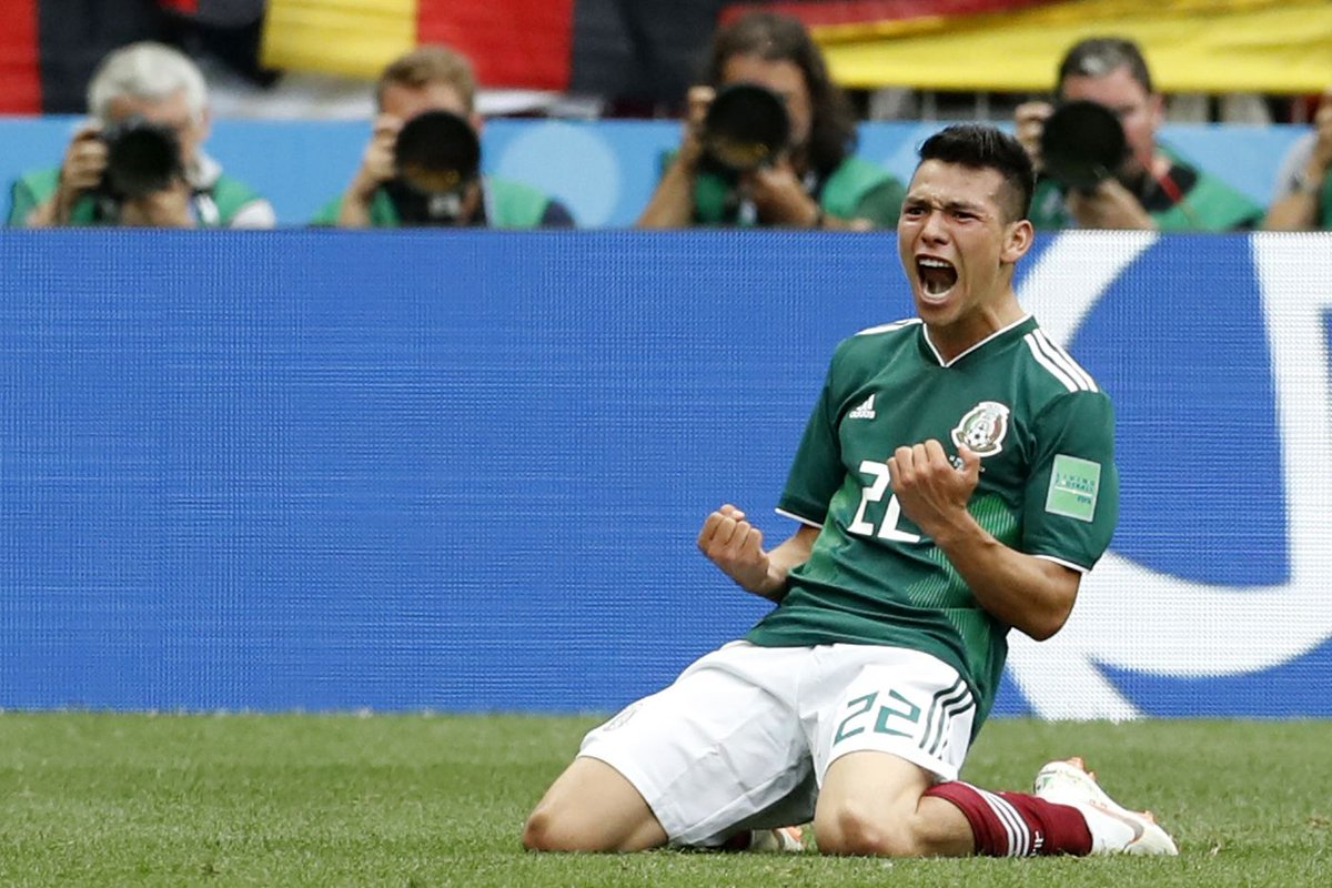 Dream start for Mexico as Hirving Lozano's goal beats defending champion Germany at the #WorldCup #VamosMexico #GERMEX https://t.co/cXEHmH9ISl