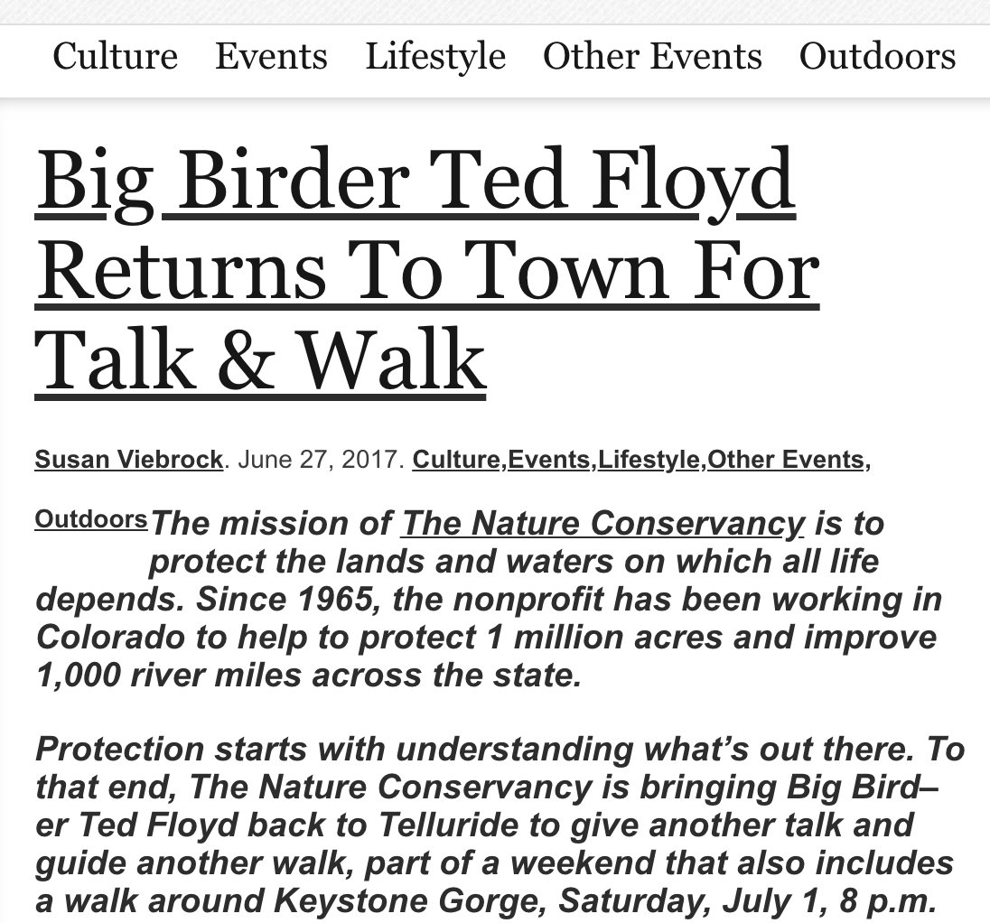 @KennKaufman @KimmKaufman @WKSUJeff @ShoresIslandsOH Meanwhile, Im merely a big birder. Not sure if thats a promotion or a demotion, but Ill take it.