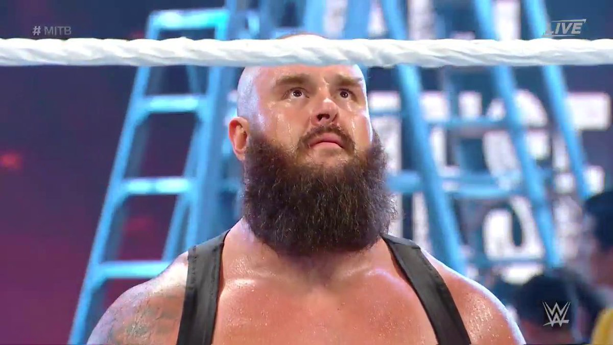 Will we be calling him Mr. MONSTER in the Bank after tonight?  #MITB @BraunStrowman