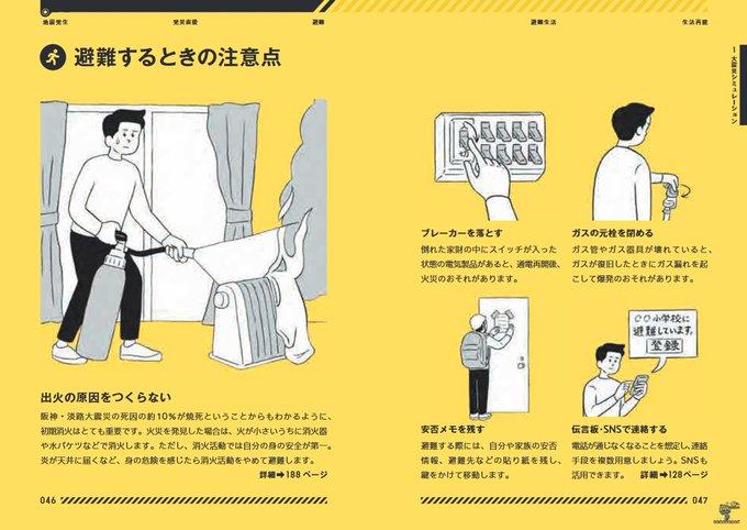規模の大きな地震の発災時・避難時の注意点等は「東京防災」にまとめられています.東京でなくても使えます.オンラインPDFだけでなくアプリ版や電子書籍版も無料公開されています.英語・中国語・韓国語版もあります.地震への備えや非常時の対応を再度確認しておいて下さい. Photo