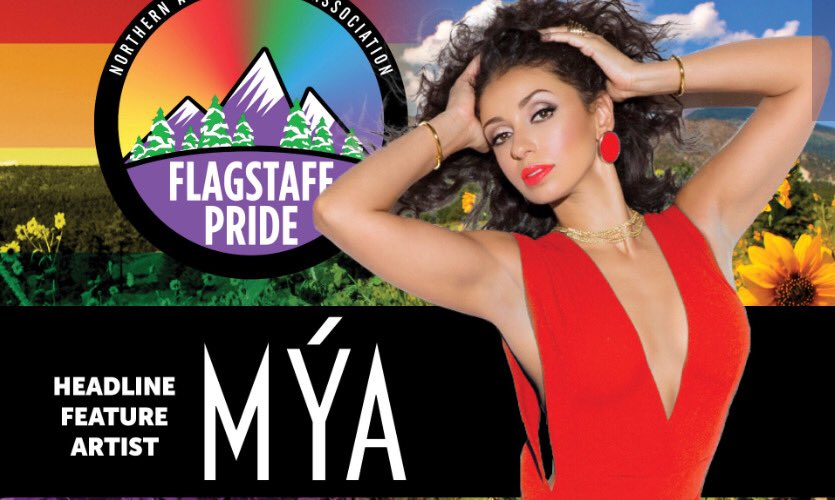 #Flagstaff #AZ ! Catch me performing live #Saturday #June23rd for #FlagstaffPridePride ! Can't wait to see you! Details https://t.co/VSI0I6DiPo>