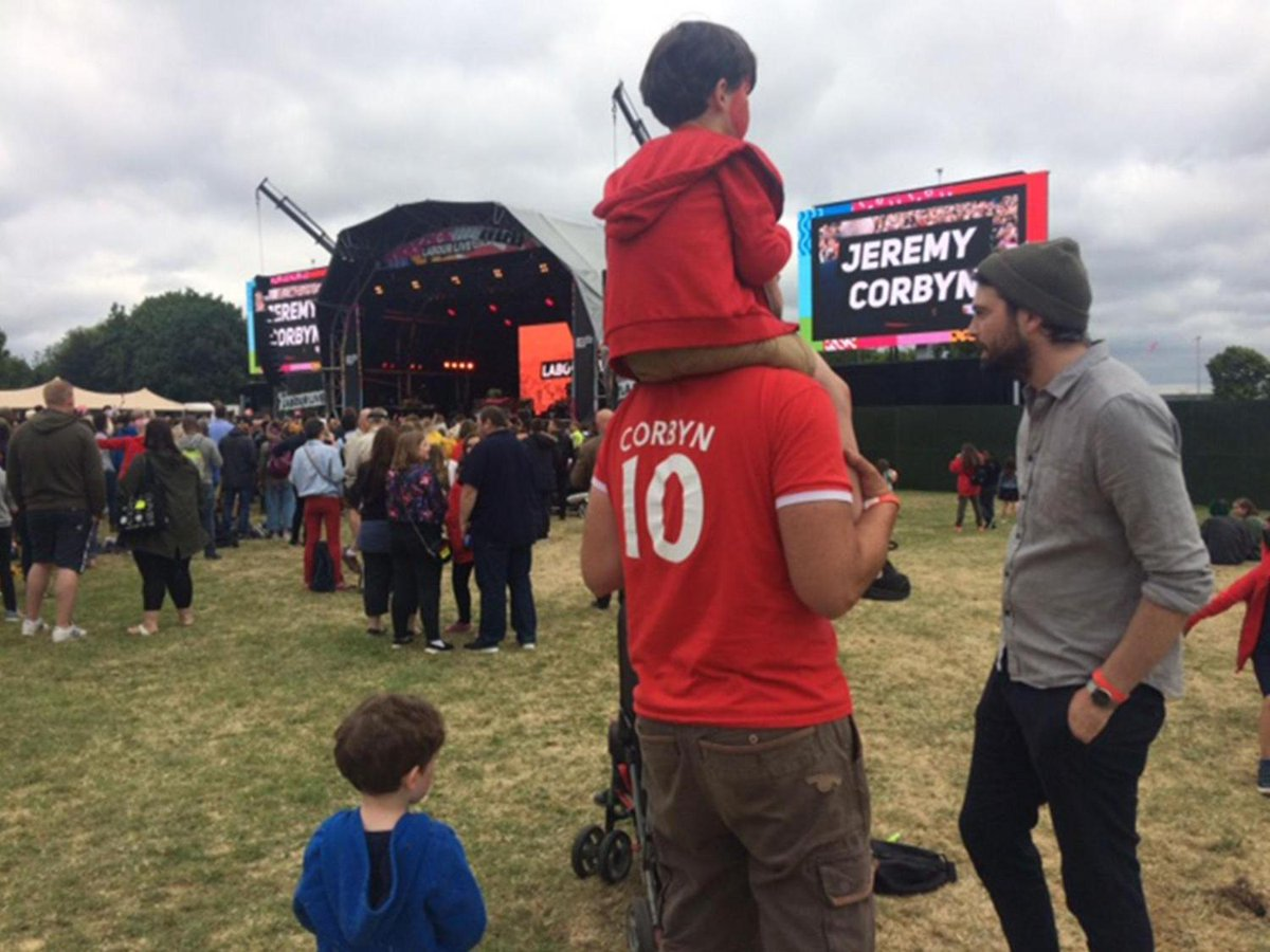 Labour Live allows party faithful to commune with JC https://t.co/dqzKJb8PUg