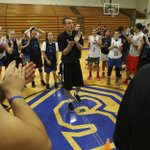 Image for the Tweet beginning: #compassionateSA Basketball camp teaches tradition,
