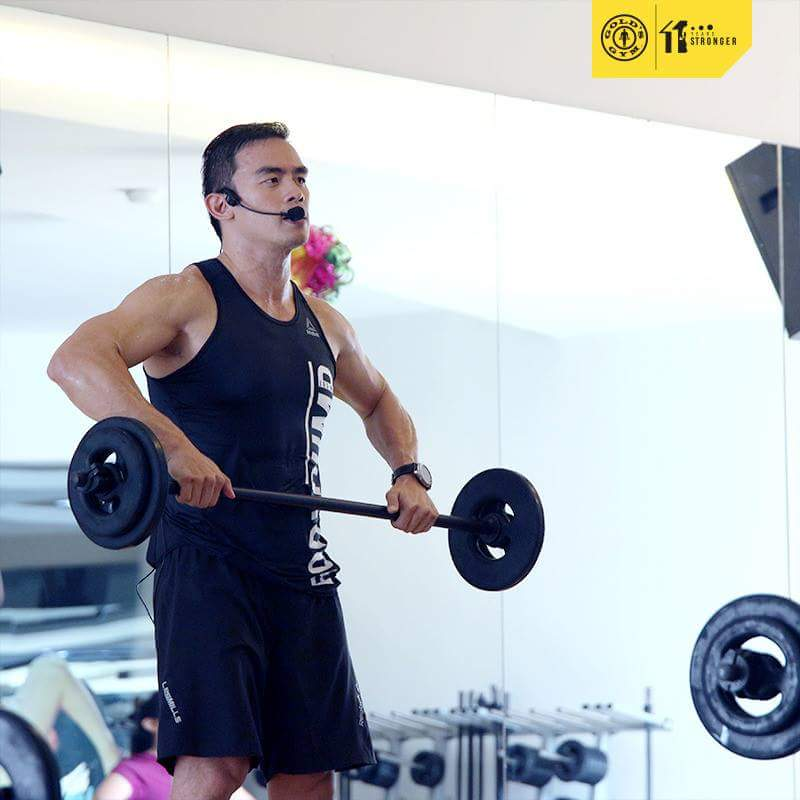 body pump golds gym