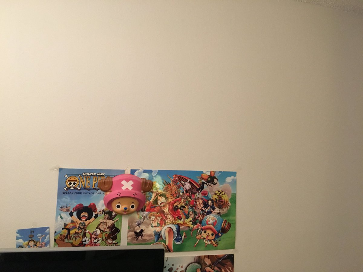 the one piece wall is comin down