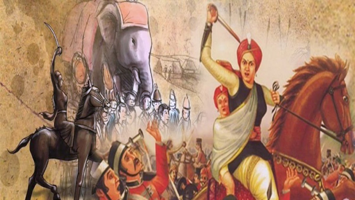 18 June in History: Death of the Rani of Jhansi – Shiksha IAS ...