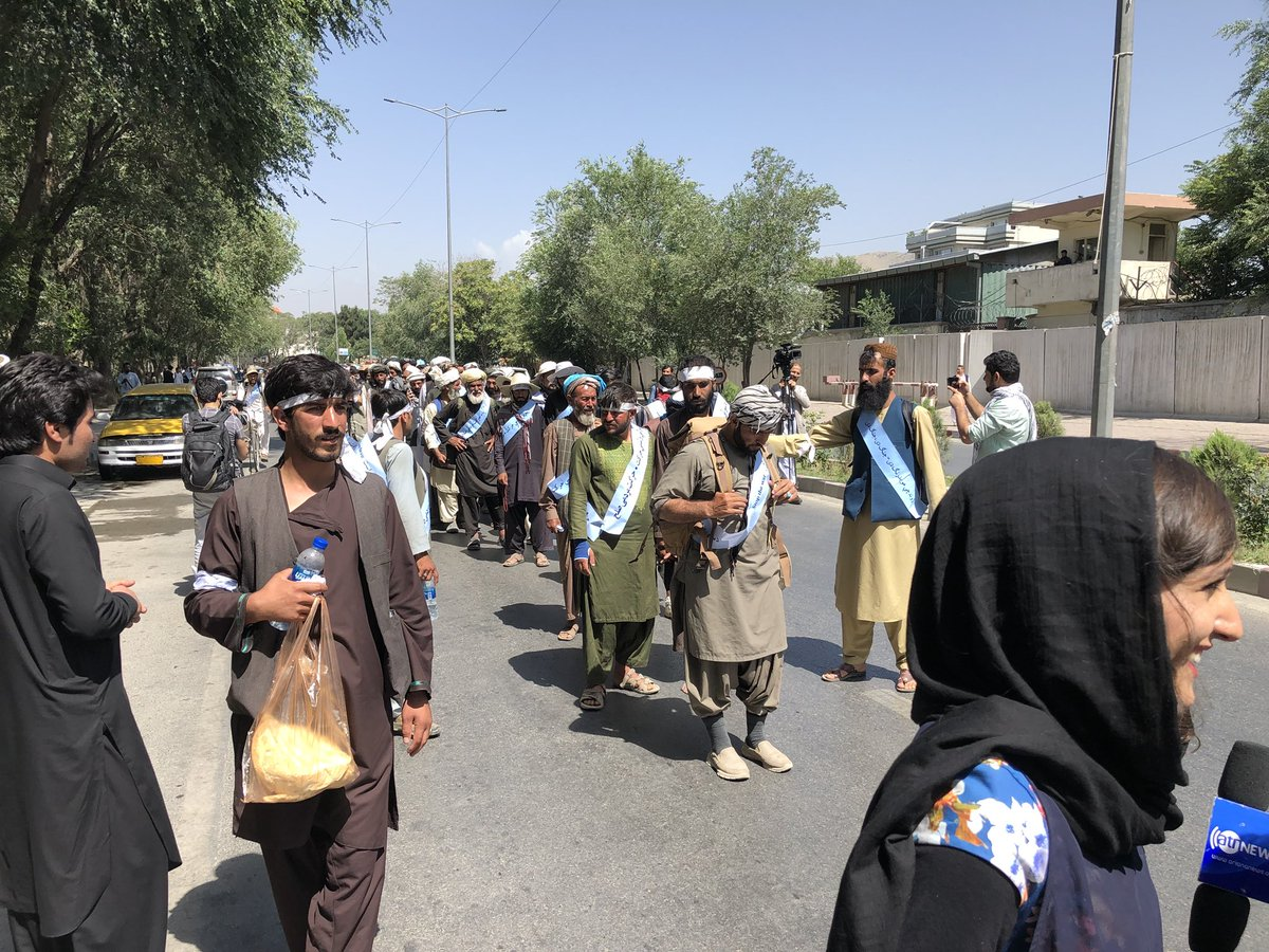 Helmand peace march in kabul