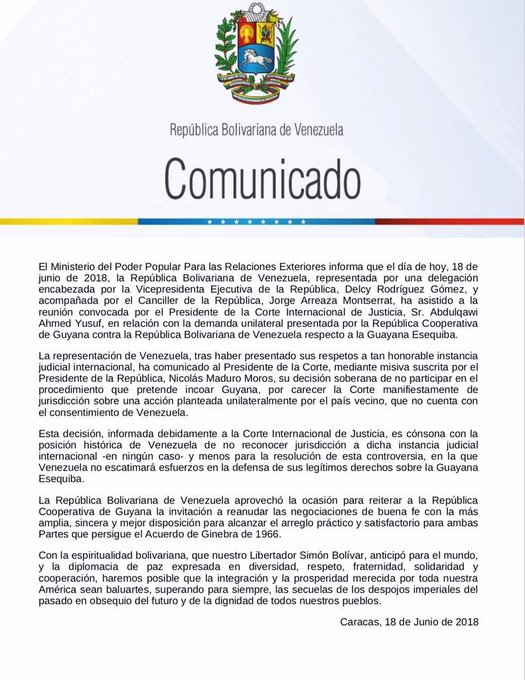 Gobierno Nacional decide no participar en el procedimiento convocado ...