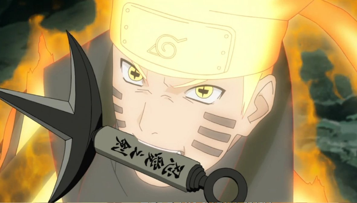 Image result for naruto six path sage mode