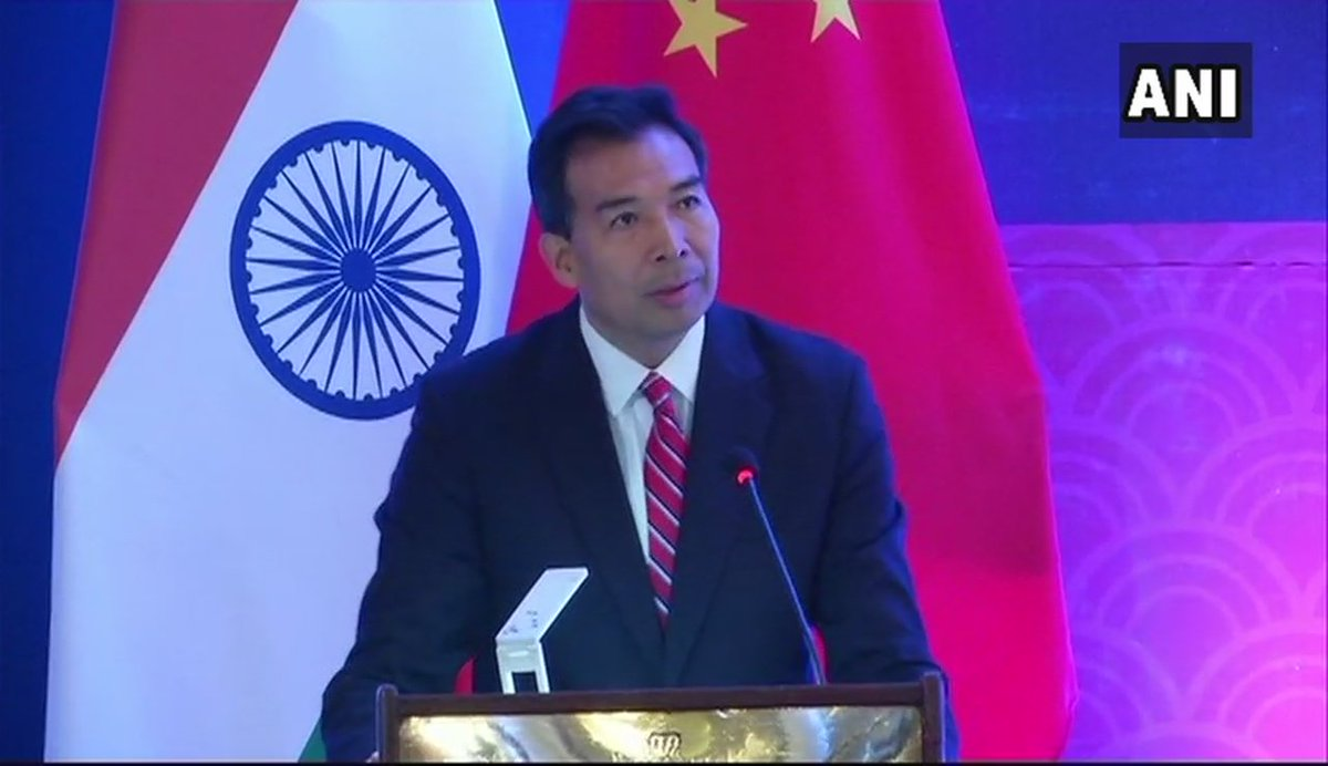 Some Indian friends suggested that India, China & Pakistan may have some kind of trilateral summit on the sidelines of SCO. So, if China, Russia & Mongolia can have a trilateral summit, then why not India, China & Pakistan?: Luo Zhaohui, Chinese Ambassador to India