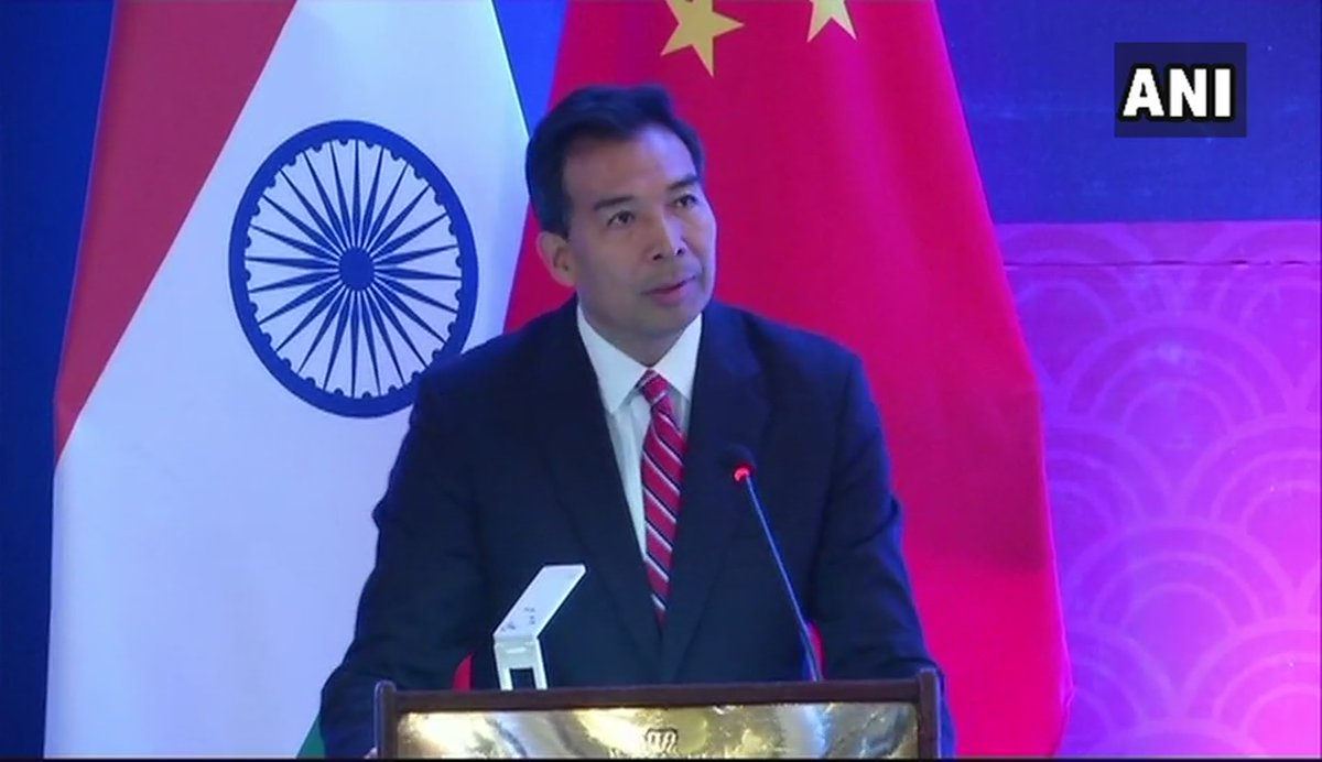 Some Indian friends suggested that India, China and Pakistan may have some kind of trilateral summit on the sidelines of SCO. So, if China, Russia and Mongolia can have a trilateral summit, then why not India, China and Pak?: Luo Zhaohui, Chinese Ambassador to India (ANI)