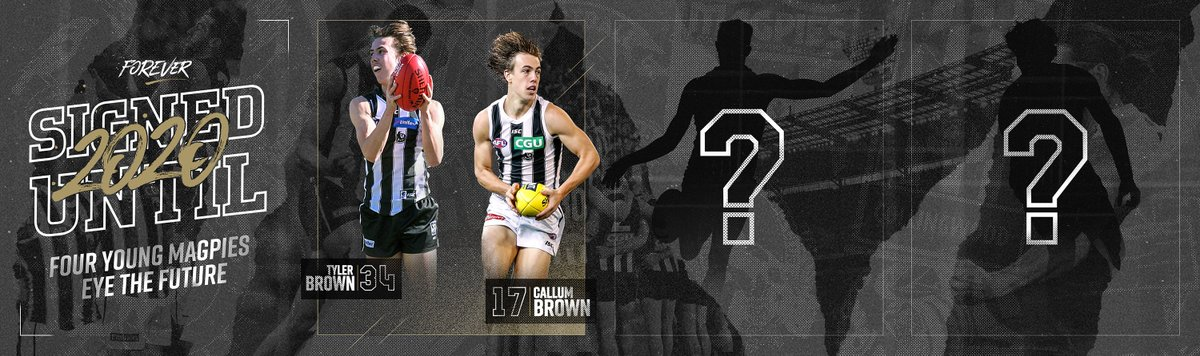 ‼️ Contract news ‼️ Callum + Tyler Brown are signed until the end of 2020. And guess what? They're not alone! We'll be releasing more re-signings in the coming days. #FOREVER
