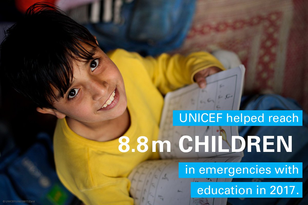 Leave no child behind. #ForEveryChild → uni.cf/results