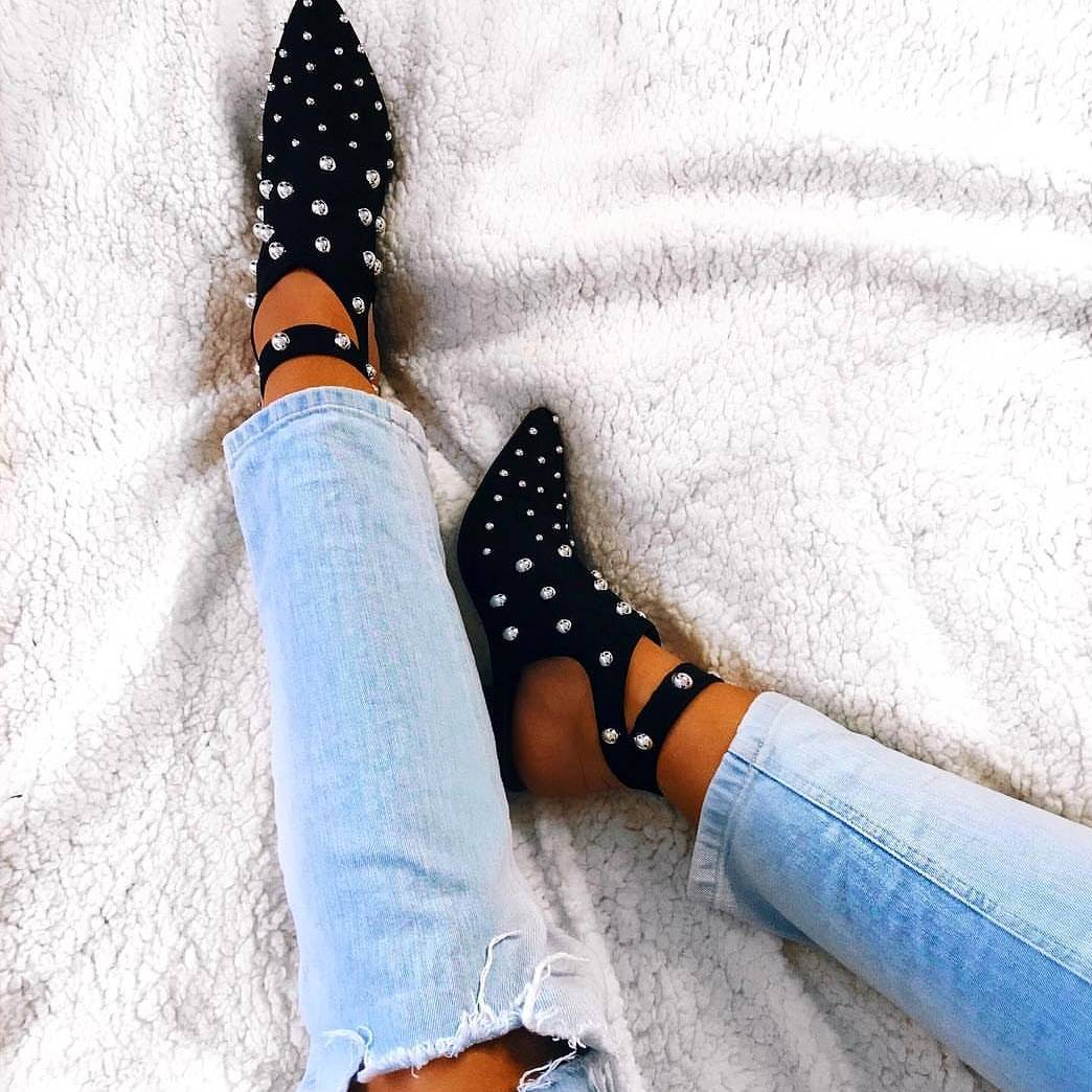 Image for They are BACK 🔥🔥🔥  The KASSIE Studded Ankle Boot 😍   Shop Here >> https://t.co/gdpHLGADTU #myikrush #fbloggers https://t.co/mjkRaRjPKI