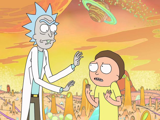 Rick and Morty back in production, pledges no more long waits https://t.co/U3mDguytKQ
