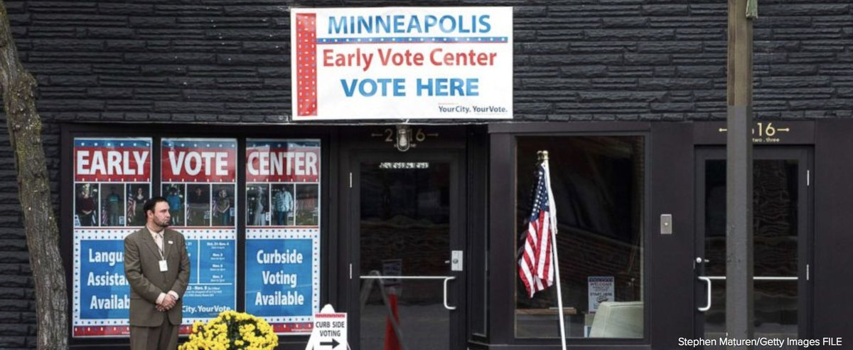 Supreme Court rules a Minnesota law banning political apparel in polling stations violates the First Amendment. https://t.co/r9r9JXhFEk