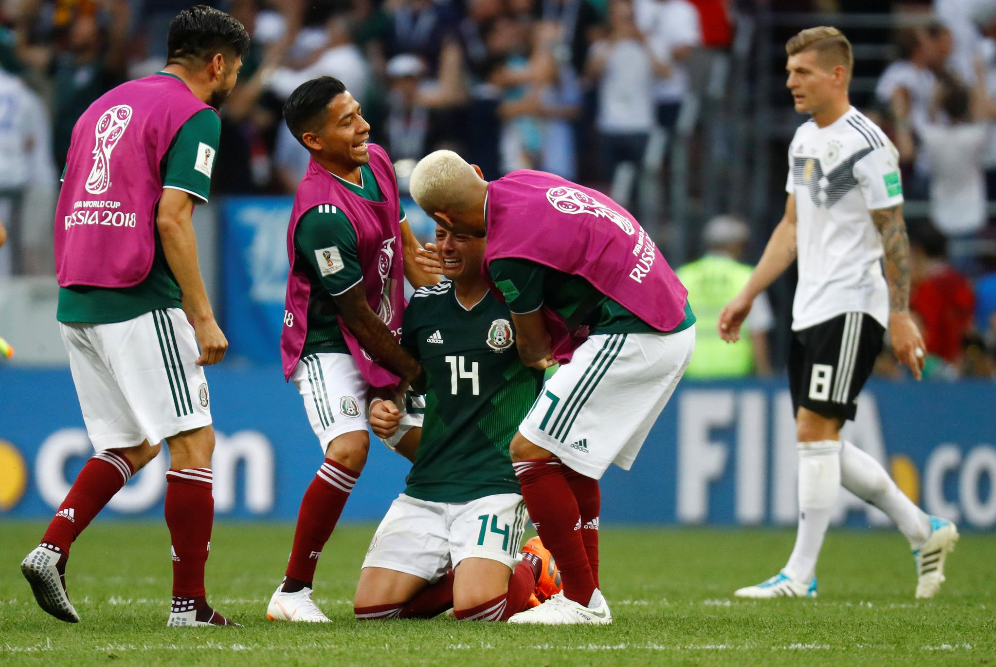 What it means to beat the world champions  #MondayMotivation #WorldCup #MEX https://t.co/WMWmUh83GK