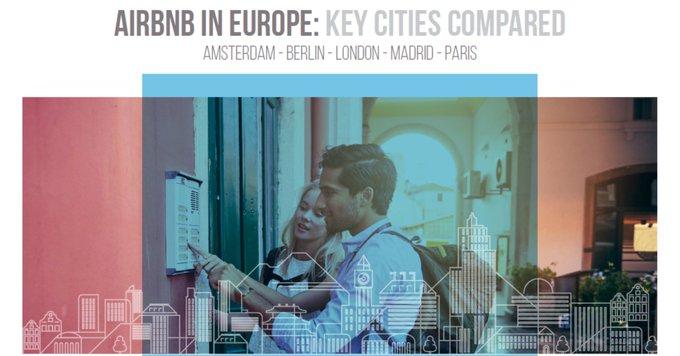 Wo werden die meisten Übernachtungen gebucht? Welche Stadt verzeichnet die größten Zuwächse? Welche Größe haben die gebuchten Unterkünfte? Wo ist Airbnb am günstigsten?<br>Studie zur #airbnb-Performance in #Amsterdam, #Berlin, #London, #Madrid und #Paris:<br><br> t.co/qEqXs8Qwrb