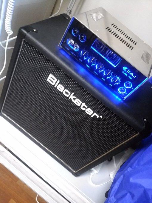 my new caj(custom audio japan) tube top Blackstar ht-112 Photo