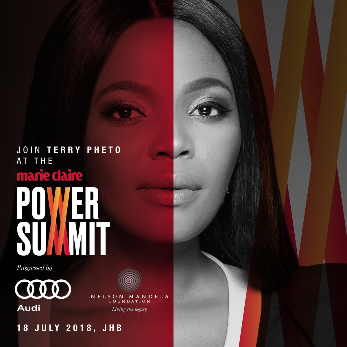 Im honored to be speaking at the #MCPowerSummit2018 alongside incredible women I admire. Join us for a day dedicated to learning from inspirational pioneers and cultural icons. For more info, visit bit.ly/2HktHp5 @nelsonmandela @audisouthafrica