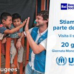 #giornatadelrifugiato Twitter Photo