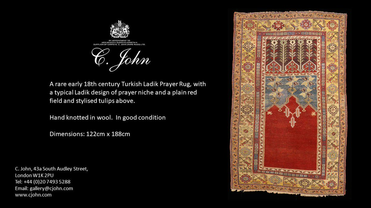This Rare Ladik Rug Forms Part Of