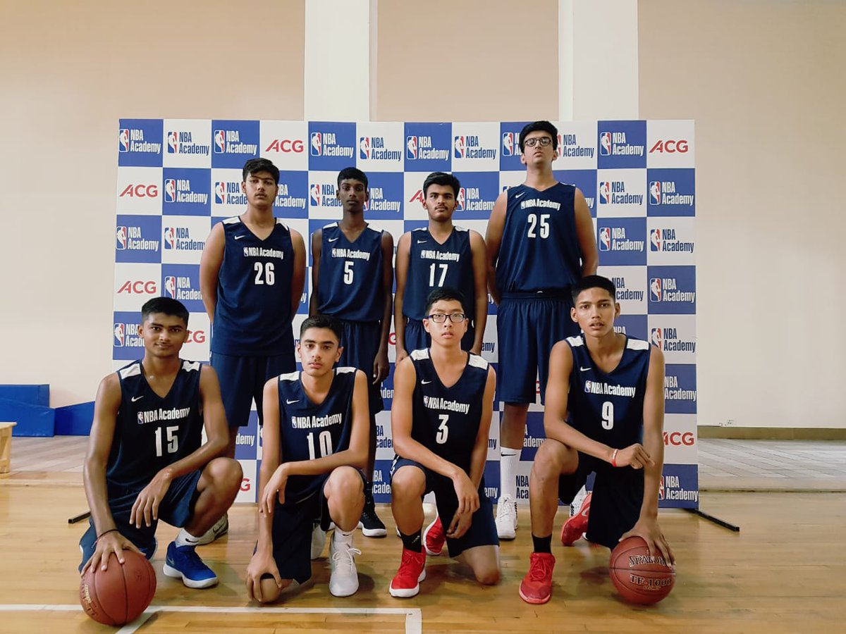"NBAIndia on Twitter: ""Welcome the newest recruits from #ACGNBAJump to the  #NBAAcademy India. Hope you have a ballin' time! (L-R, Standing) Pranav  Prince, Abhi Joshi, Pritish Kokate, Aryan Kumar, Harsh Dagar, Lalhnepuia"