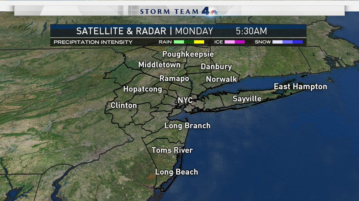 Here's the latest satellite & radar image. Full forecast at: https://t.co/BUBywbpFcx #NBC4NY