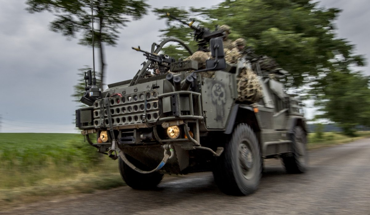 Soldiers from 1st The Queen's Dragoon Guards have been taking part in the multi-national Exercise Saber Strike in Poland, involving around 18,000 personnel from 19 different countries.