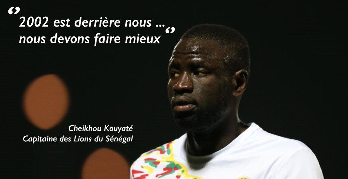 Les Lions du #Sénégal feront-ils mieux que leurs aînés en 2002 en dépassant le stade des quarts de final ? Tout commence mardi pour Cheikhou Kouyaté et ses coéquipiers. Le premier match de l'équipe sénégalaise au mondial #Russie2018 l'oppose à la Pologne. 🇸🇳 ⚽️ 🇸🇳