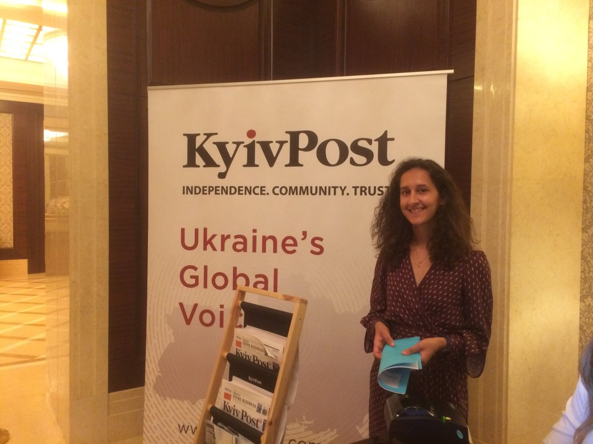 Good afternoon, Kyiv! Our first panel in our conference 'Bringing Peace to Syria and Ukraine' kicks off in 20 minutes. We're here and excited to welcome you.