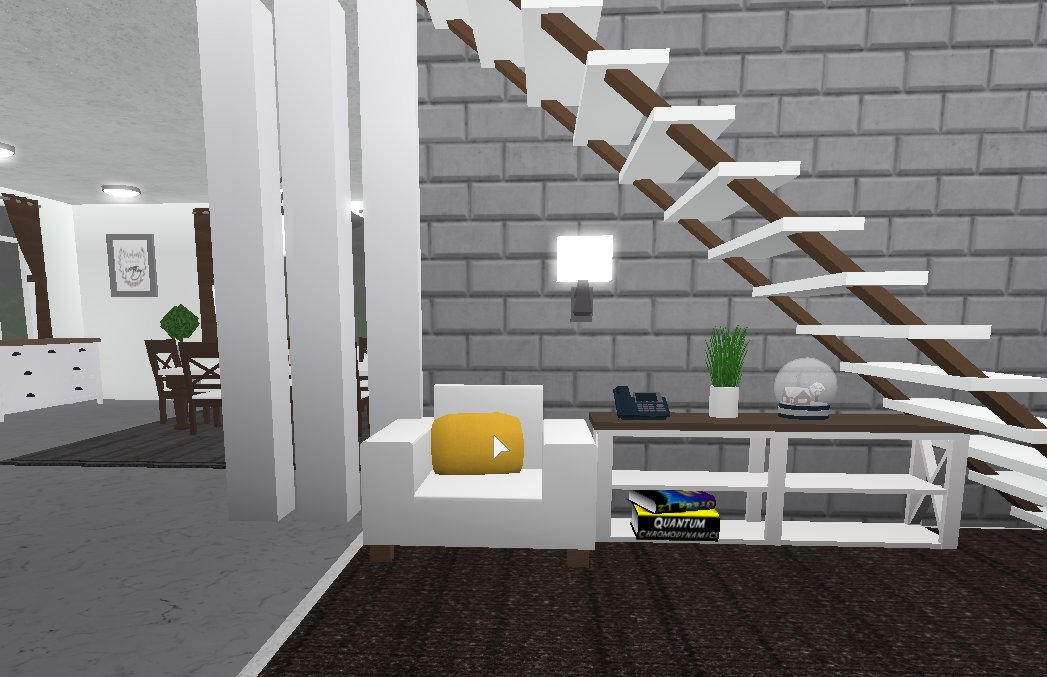 Roblox Bloxburg Modern House Speed Build Angiepcaps On Twitter Roblox Bloxburg Speedbuild White Modern House 2