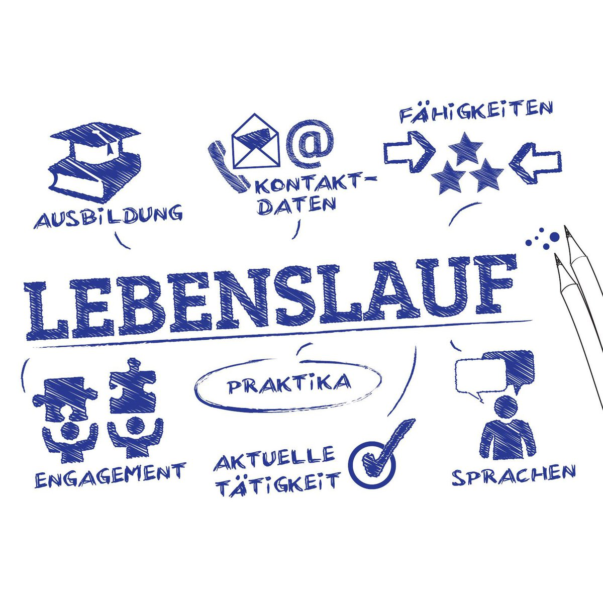 lebenslauf hashtag on Twitter