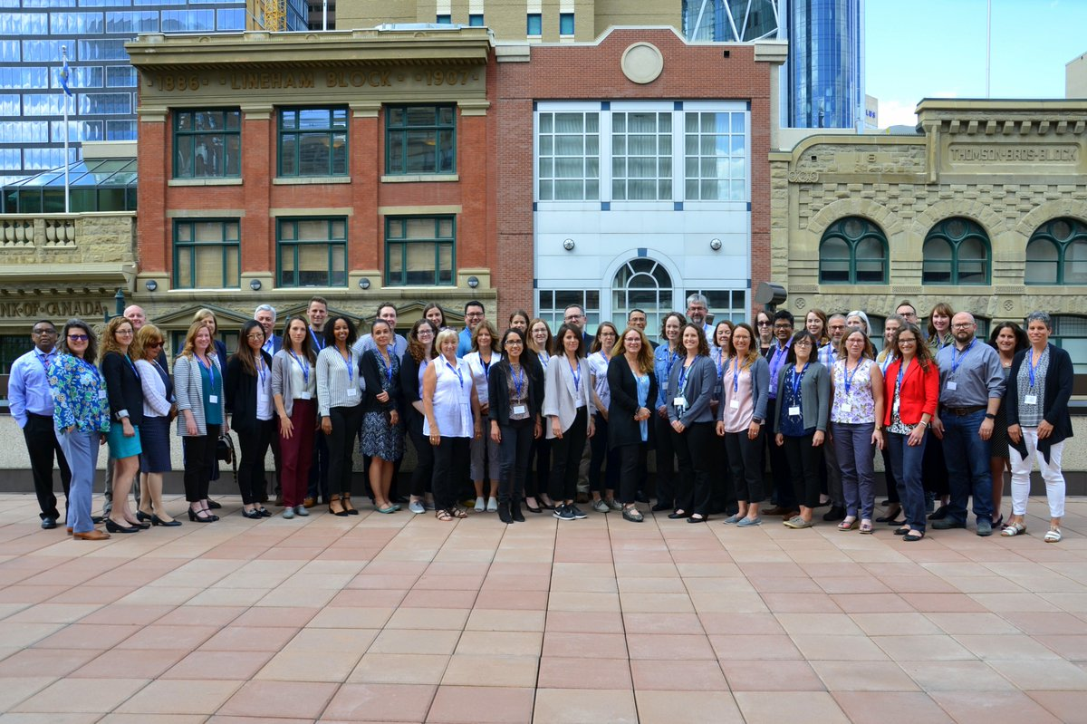 Welcome to Calgary:  Participants of the Research and Innovation Impact Assessment Course! Looking forward to hosting you at INVENTURE$ 2018 #Inventures2018  #RIIA18 <br>http://pic.twitter.com/16YFmsSpd1