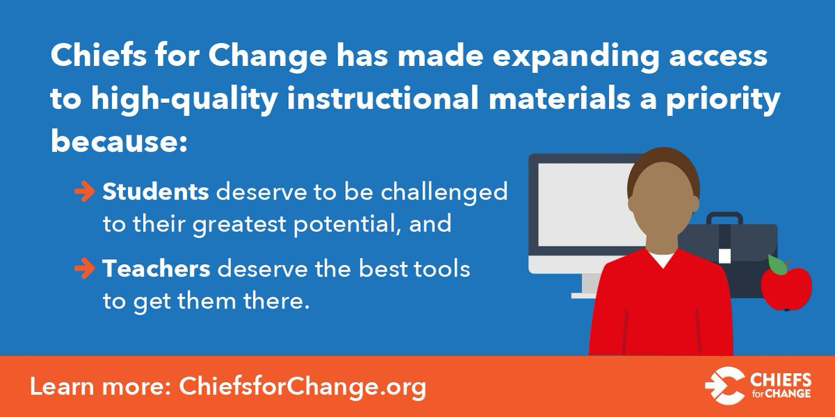 Chiefs For Change On Twitter Education Systems Leaders Agree