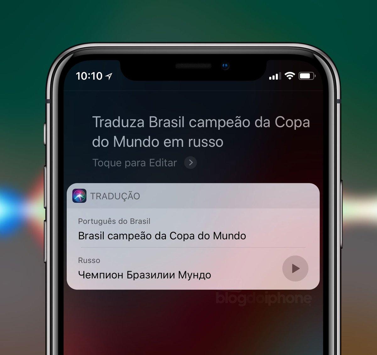 Blog Do Iphone On Twitter Função De Tradução De Frases