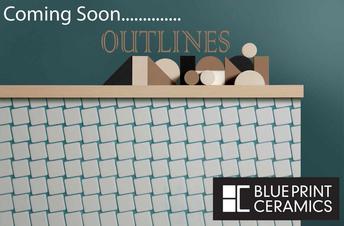 Blueprint ceramics blueprintceram twitter outlines what do you think of this amazing new range that uses shapes and grout lines that create high impact statements as ever you thoughts are welcome malvernweather Choice Image